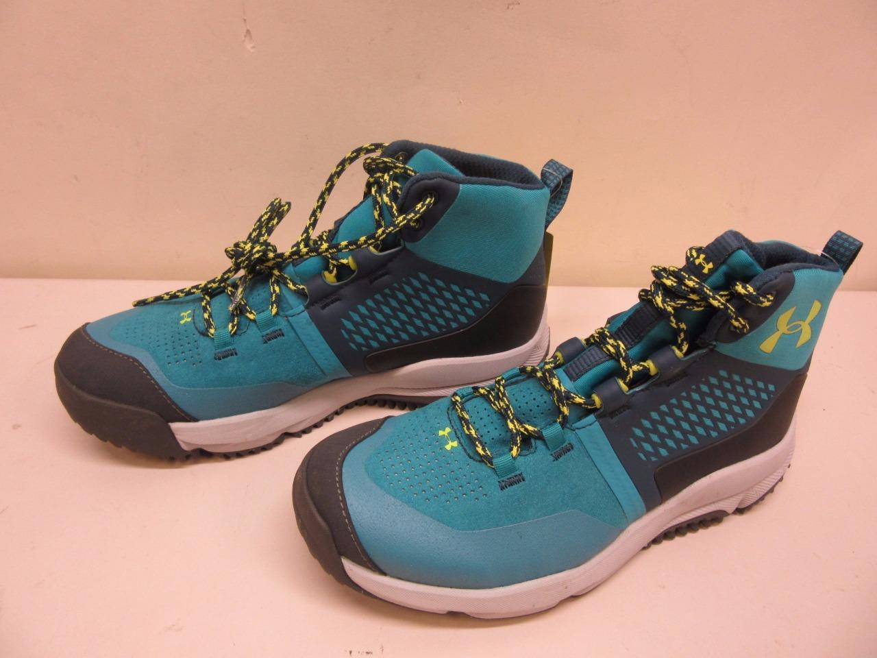 Under Armour Moraine Women's Size 7 SMS Sample Hiking Boots Shoes Blue