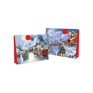 Lot-de-4-Noel-Super-Jumbo-Sac-Cadeau-Papier-extra-large-Big-Present-Sac-56-cm
