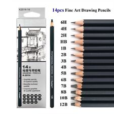 2B Pasler Professional Graphic Sketching Drawing Pencils 12 Count