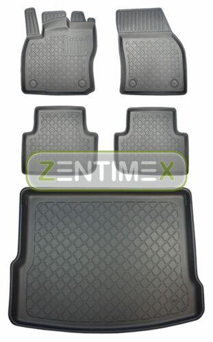 Z331245 Set Tappetino Vasca In Gomma Tappetini per VW VOLKSWAGEN TIGUAN Comfortline