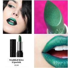 Kat Von D Studded Kiss Lipstick Plan 9 0.10 oz tube full size Green Shimmer mac