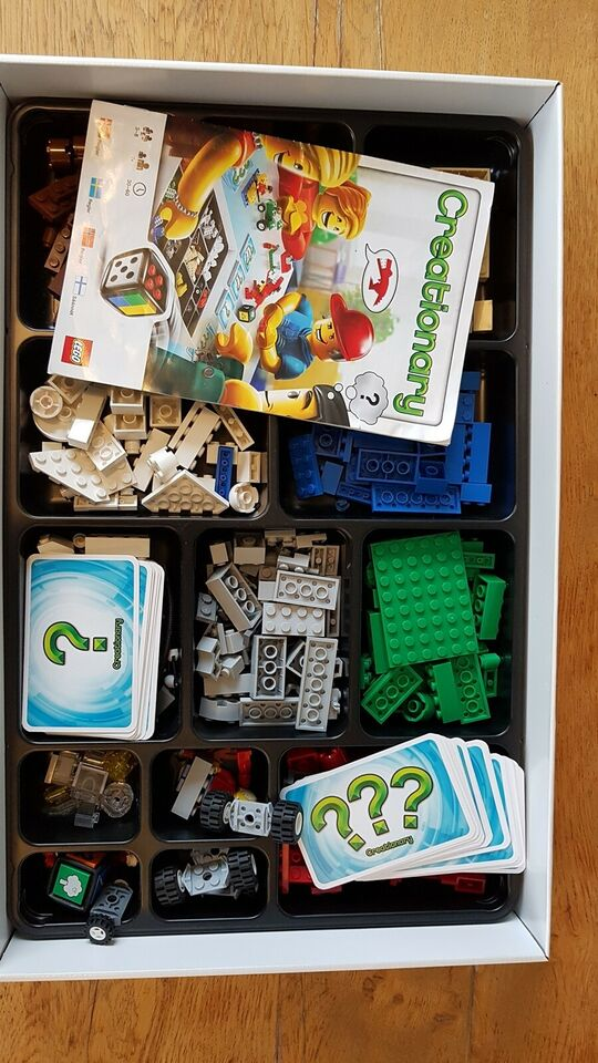 Lego Creationary, Børnespil, brætspil