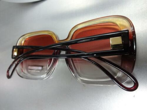 OVERSIZED Upscale LUXURY Fashion RETRO Style SUNGLASSES Square Frame Rose Lens
