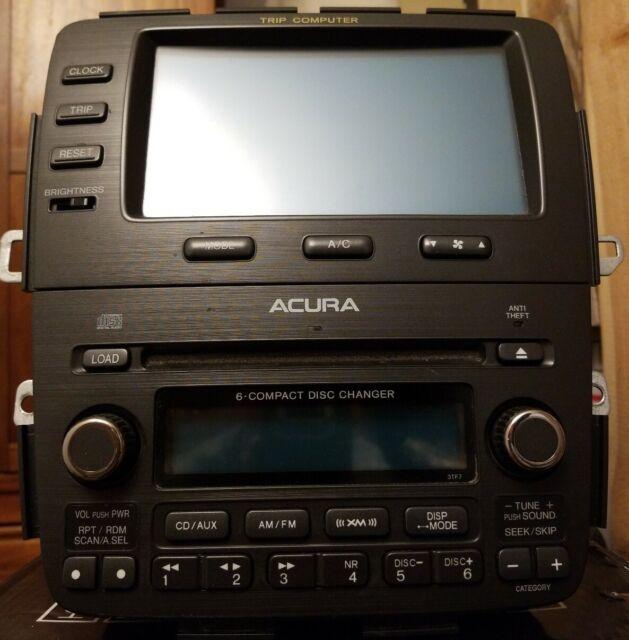 03 04 Acura MDX Bose Radio Cd Cassette Player 39100-S3V