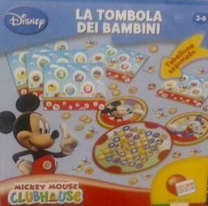 Dettagli Su Topolino La Tombola Dei Bambini Lisciani 8008324027514