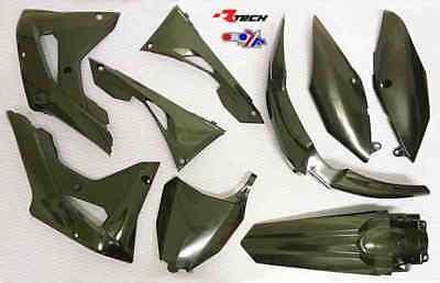 Honda CRF450-RX 2017 2018 Black Plastic Kit Plastics CRF-NR0-600