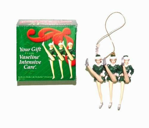 Vaseline - Radio City Rockettes 75th Anniversary Christmas Ornament | eBay - Vaseline - Radio City Rockettes 75th Anniversary Christmas Ornament