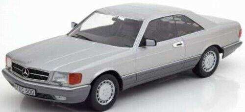 KK-SCALE Mercedes Benz SEC 560 (C126) 1980 Silv 1 18 180332