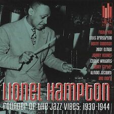 LIONEL HAMPTON - Founder of the Jazz Vibes: 1930-1944 - 21 TRACKS -CD-NEW