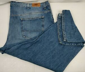 Tommy-Hilfiger-Men-039-s-Classic-Straight-Denim-Blue-Jeans-Size-52x30