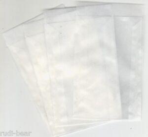 100-Pergamintueten-hochwertige-Qualitaet-115x160-mm-und-20-mm-Klappe-pt710
