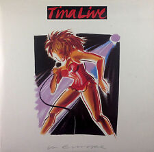 """2 x 12"""" LP - Tina Turner - Tina Live In Europe - k1800 - washed & cleaned"""