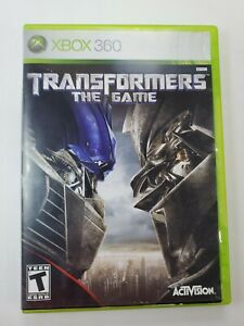 Transformers: The Game (Microsoft Xbox 360, 2007) Video Game Complete  Tested