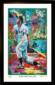 SALE-50-OFF-WILLIE-MAYS-L-E-56-99-PREMIUM-ART-PRINT-SIGNED-BY-ARTIST-WINFORD