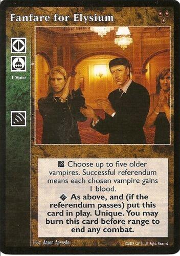 Melpominee The Eternal Struggle Vampire VTES JYHAD CCG