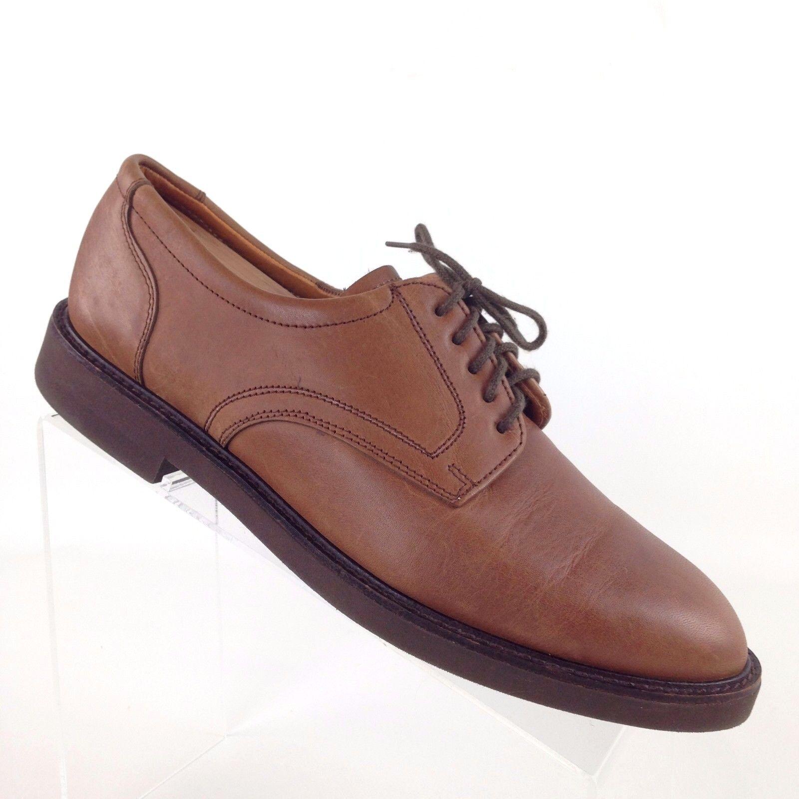 il più recente Brooks Brothers Brooks English Comfort Marrone Marrone Marrone Oxford Dress scarpe England Uomo 9 B  supporto al dettaglio all'ingrosso
