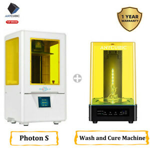 ANYCUBIC Imprimante 3D Photon S+Wash&Curing Machine for 3D Printing Model 2 in 1