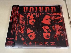 VOIVOD KATORS VICP-63447 JAPAN CD w/OBI 09168
