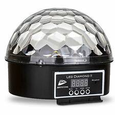 LED Diamond II DMX Lichteffekt Kugel für Disco Club Party Bar Spiegelkugel *NEU