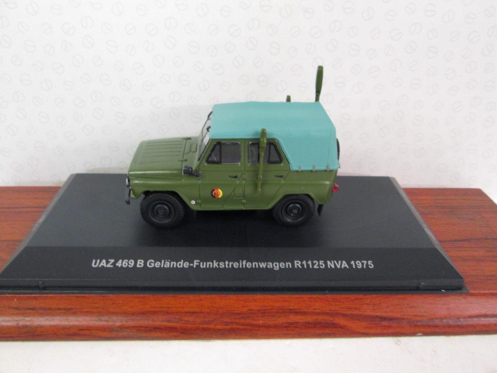 IST MODELS. UAS 469B. GDR Military Police. 1975. Green. 1 43. IST CCC079