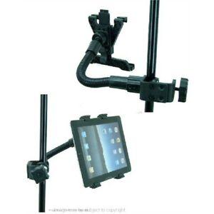 Réglable Heavy Duty Flexible Musique / Microphone Stand Holder Pour Ipad Air-afficher Le Titre D'origine Csxcaxn0-07163220-204388266