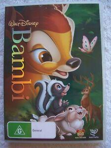 Walt-Disney-Bambi-DVD-VGUC