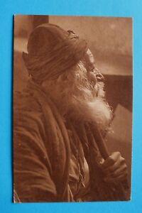 Israel-Judaika-AK-Palestine-Jerusalem-1921-110-years-lod-Jew-of-Tiberias-Jewish