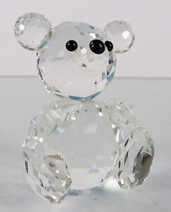 figurines glass Asian bear teddy