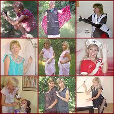 Kittel Schürzen Apron Blouse Nylon Dederon Bilder: Alina Session 3 (DVD)