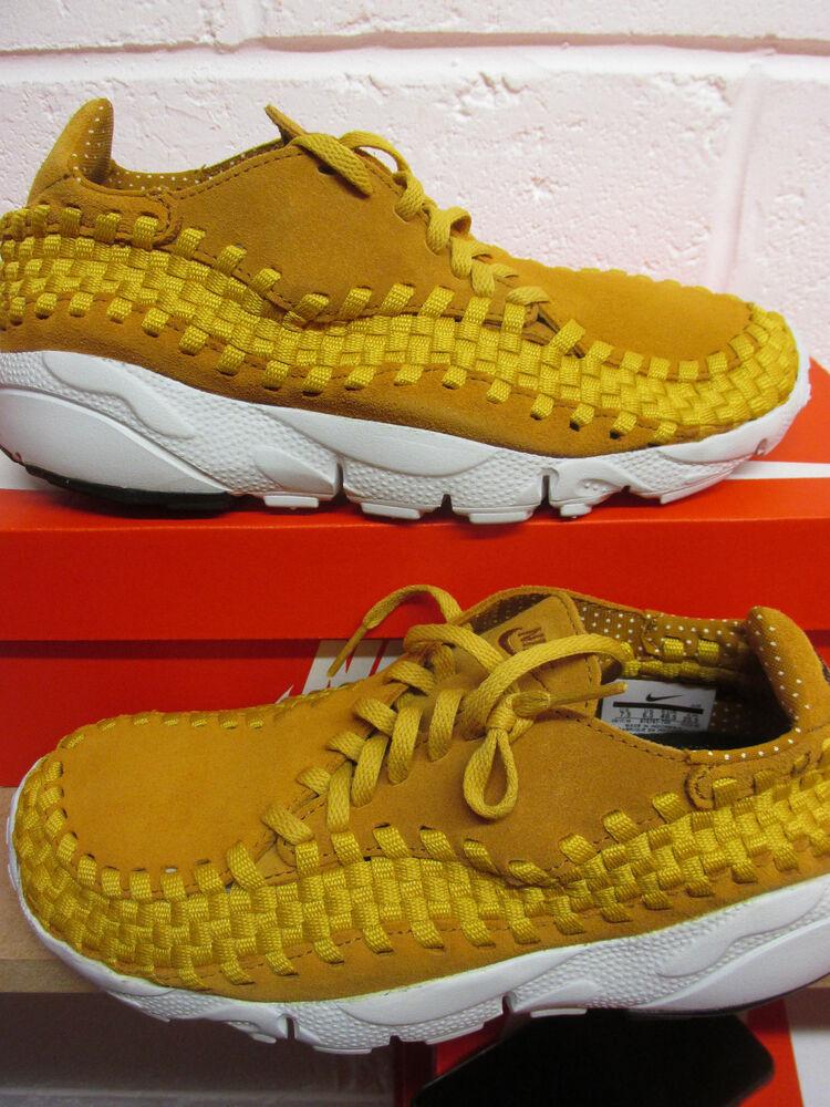 Nike Air Footscape Woven Presque comme neuf Homme Running Baskets 875797 700 Baskets Chaussures- Chaussures de sport pour hommes et femmes