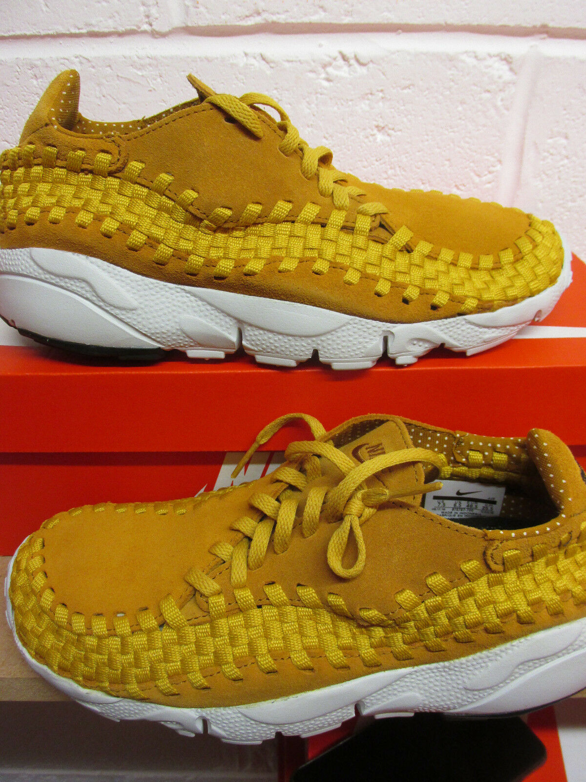 Nike Air Footscape Woven NM Mens Running Trainers 875797 700 Sneakers Shoes