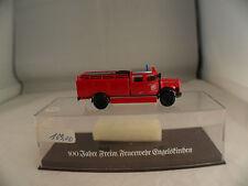 Brekina camion pompiers Man Feuerwehr Engelskirchen neuf en boîte 1:87 MIB