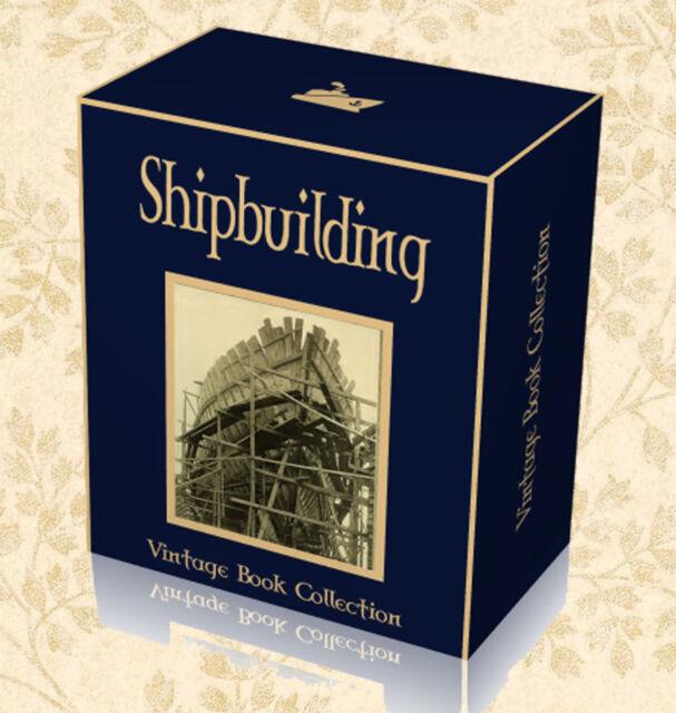 Wooden Boat Design Sailing Seamanship J2 205 Rare Ship Building Books on USB