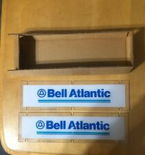 "New Bell Atlantic Telephone Sign 12 7/8"" x 3 1/2"""