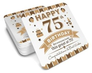 Image Is Loading 75th Birthday 1943 Happy Present Gift Idea For