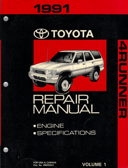 2002 Toyota Tundra Service Repair Shop Set Oem 2 Volume