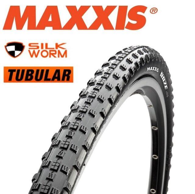 MAXXIS Raze 28 x 33mm (700c) Silkworm Tubular Folding MTB Tyre