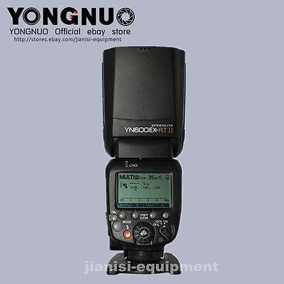 YONGNUO TTL YN600EX-RTII  Flash speedlite for canon 700D,650D/T4i,600D/T3i, 550D