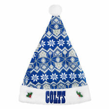 aa1d85efb52ec3 item 1 NWT NFL Indianapolis Colts Forever Collectibles Santa Hat Christmas  Pom -NWT NFL Indianapolis Colts Forever Collectibles Santa Hat Christmas Pom