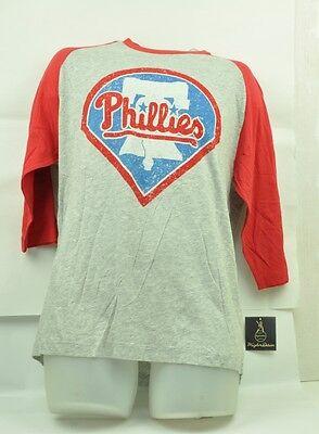 Ehrgeizig Mlb Philadelphia Phillies Wright & Ditson Herren Medium Tshirt Mid Ärmel Rot Gesundheit Effektiv StäRken Sport Fanartikel