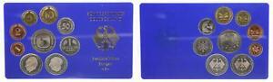 BRD Kurssatz Einzelplatte 1976 F Polierte Platte 1Pf. bis 5 DM 56330