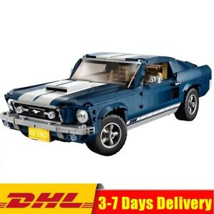 CREATOR-Ford-Mustang-GT-1960-compatibile-Lego-10265-1471-pezzi-NUOVO-DHL