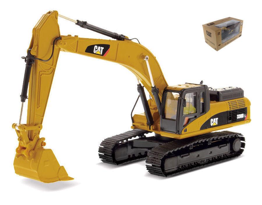 1 50 Caterpillar Cat 330D L Hydraulic Excavator Diecast Masters 85199 Vehicle To