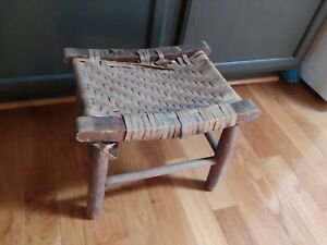 Fine Details About Primitive Foot Stool Wood Dairy Milking Bench 12 X 13 5 X 15 5 Seat Need Repair Spiritservingveterans Wood Chair Design Ideas Spiritservingveteransorg