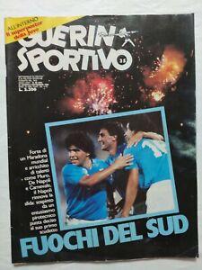 GUERIN-SPORTIVO-35-1986-MARADONA-NAPOLI-CAGLIARI-PARMA-UDINESE-VICENZA-ROMA
