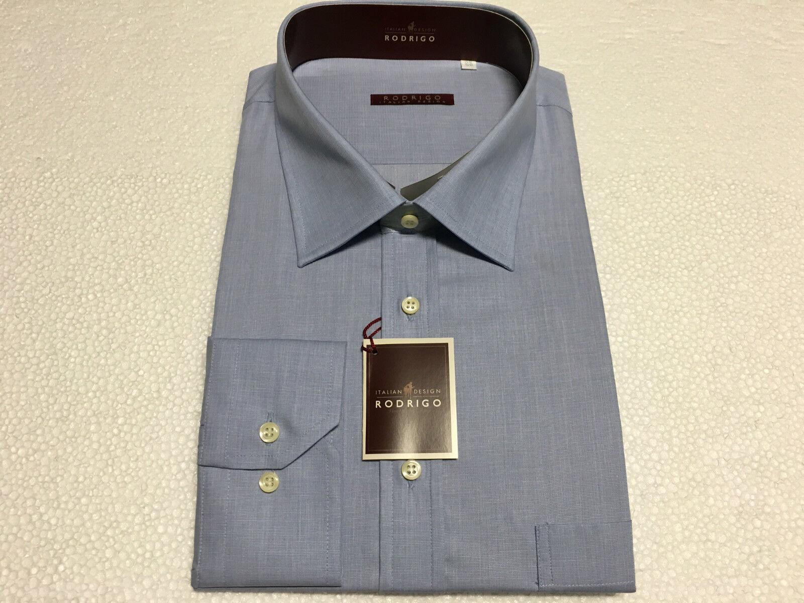 RODRIGO Herrenhemd Linea kalibriert himmlisch 100% Baumwolle 50-20 | Kaufen Kaufen Kaufen Sie online  c53929