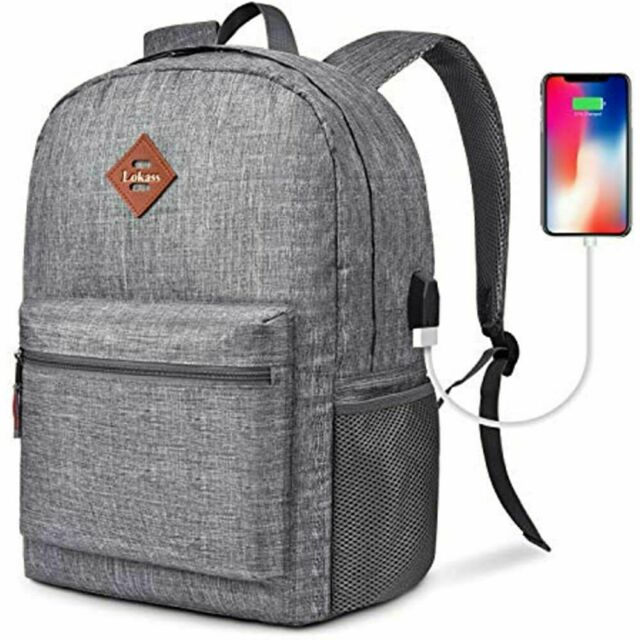 CoolBELL Backpack Casual Daypack Student Book Bag Water-resistant Travel Laptop
