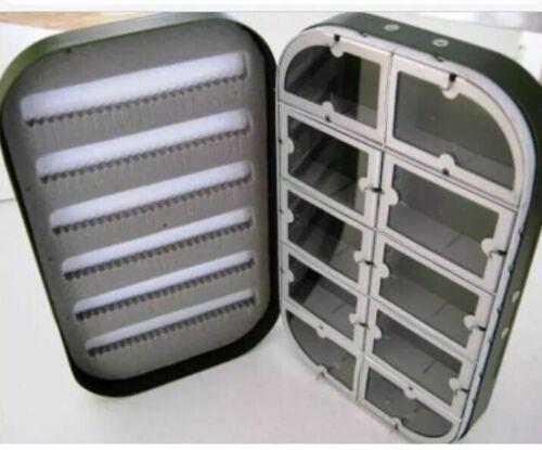 Aluminium Fly Box 10 Windows,slit Foam