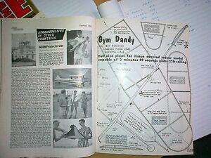 Bien Jim Dandy 20 In (environ 50.80 Cm) Intérieur Duration Plan Encore Dans Le Feb 1962 Aeromodeller-afficher Le Titre D'origine