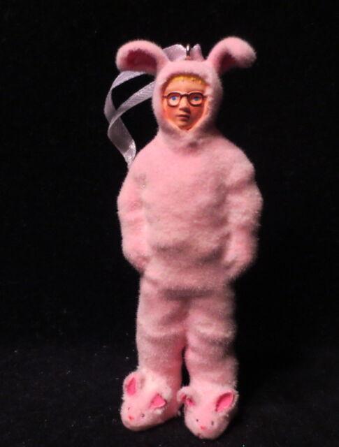 hallmark 2016 a christmas story ralphie in bunny pajamas pink christmas ornament